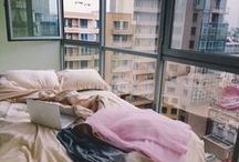 Interiors & Decor / messy beds and scandinavian minimalism / by Rachel Coleman