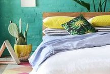 Summer Bedroom / Our favourite summer decoration ideas to brighten up the bedroom. Whether you enjoy soft, sandy tones or bright pops of blue, yellow and green, summer is THE season to have fun with your bedroom decor! / by Bedshed