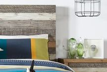 A/W 2015 Bedroom Design Trends / From the industrial chic of New York loft apartments to the breezy Hamptons beach house style, revamp your bedroom spaces with looks from faraway places.  / by Bedshed