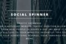 Social Spinner / Join Now: http://www.socialspinner.net SOCIAL SPINNER is Autosurf website Traffic solution allows you to generate traffic from REAL people 24 hours a day. We make it easy for you to gain UNLIMITED visitors to your websites INSTANTLY! This system allows you to INCREASE your advertising revenue, your rankings position and MORE.