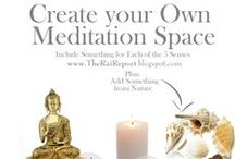 MEDITATION SPACE ... / ...I AM the container for the most intense form of sacred energy...