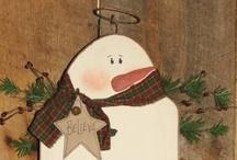 Snowmen melt my heart / by Tracey Puckett