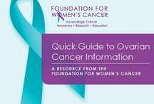 Education & Awareness / We invite caregivers and survivors of gynecologic cancer to check out the materials we've collected below. Some are specific to gyn cancers while others address cancer in general.