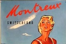 Vintage / Looking back in time: touristic posters and events...