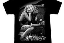 Men's T-Shirts & Tanks / Men's tattoo, kustom kulture, punk t-shirts and tank tops!