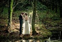 Enchanted Forest Wedding / purples, greens and lots of outdoor space  / by Candace Collins