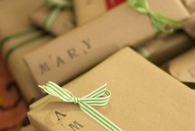 Gift Wrapping with Kraft Paper & Imagination! / There's better ways to present gifts than using dye-heavy paper, made of trees & chemicals and shipped around the world only to be tossed in the garbage within minutes.