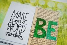 "{OLW 2013/2014} / ""One Word"", ""My One Word"", ""One Little Word"" My 2013 word: Gratitude. My 2014 word: Be"