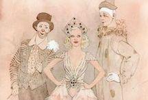 Costume Renderings / by Kelsey Nichols
