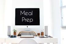 Meal Prepping For The Week / Meal Prepping For The Week, frugal, food, meal prep Save money and time by doing weekly meal preps