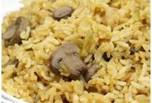 Rice Recipes / Main dishes and side dishes that feature rice!