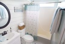 Bathroom ideas / Inspiration for future bathroom projects! / by Jacque - The DIY Village
