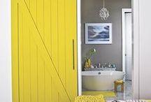 My Barn Door Obsession / Barn doors, sliding doors, sliders, home decor, door,