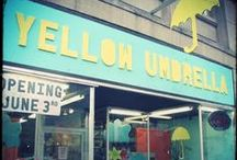 Yellow Umbrella Shop / by Jennifer Pomp
