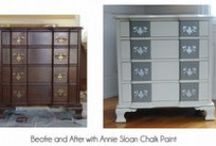 Annie Sloan Chalk Painted furniture / by Linda Holt
