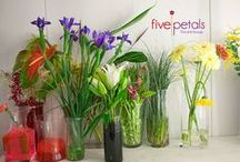 Flowers we love to work with / Five Petals gets fresh flowers daily