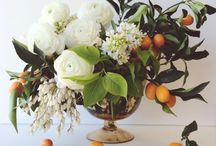 Food in Flowers & Tablescapes