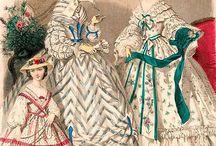 La mode féminine au XIXè siècle / Tout ce qui se rapporte à la mode féminine du Second Empire.
