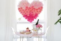 VALENTINES DAY IDEAS / Valentines day decor, date, and food ideas.