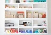 Craft Rooms / Offices / Craft Room and Office Ideas