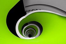 Up or down but not sideways / Stairways... to heaven?