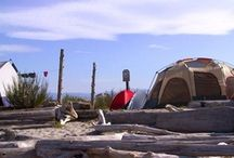 Camping Sweet Spots / by Sunshine Coast Tourism, BC