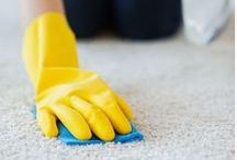 25 Plus Cleaning Tips & Tricks / Cleaning, tips, tricks, easy, grout, oven, toilet, home, clean, stove, dishwasher, washing machine, microwave
