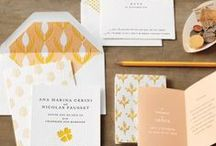 Wedding Inspiration / by Whimsy Whimsical Paper Goods