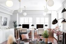 OFFICE GOALS / Beautiful, motivating office spaces we love.