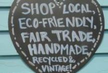Buy Handmade, Buy Local / Images to use in marketing for buying handmade/local
