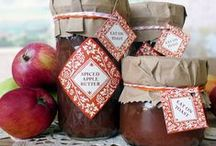CANNING: JAMS, JELLIES, BUTTERS & SPREADS / by Denise Smith