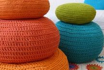 Crochet for the Home / Crochet rugs, baskets and other useful things.