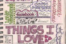 Journaling Ideas / by Pam Volk