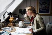 Workspace / Artists, craftspeople and the spaces they work in, plus ideas for my ideal workspace