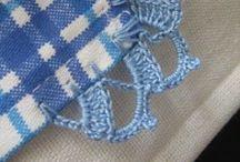 Knitting & Crochet: On the edge / Finishing project details... Borders, scallops, frills...