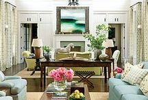 Fireplace Inspriation / Give your builder grade fireplace an update with these inspirations!