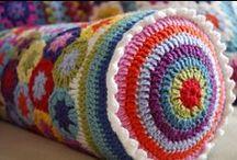 Knitting & Crochet: Rugs, Cushions, Blankets & Dishcloths