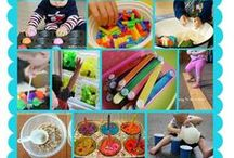 Kiddies crafts, fun activities and clever ideas! / Kids