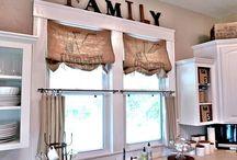 Window covers / Furnishing windows