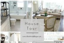 In & Around Beautiful Homes / homes, before and after, decorated, furniture, room size space, soft furnishings, carpets, room by room, inside and outside spaces beach houses, famous people's homes, property, stars