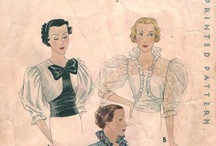 "vintage patterns i  ♥ / by Sew Craftful-Calandra ""Callie"" Cooper"
