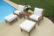 Discounted Teak Patio Furniture From Home And Patio Decor Center / Large  Selection Of Grade A