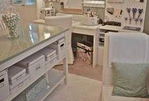 Craft Room/Storage Ideas / by Jolanda van Pareren