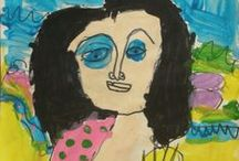 Ciera & Brennan's Art and School Work