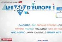 A L'AFFICHE ! / Evénements passés et futurs, ils marquent la vie d'Europe 1. / by Europe 1