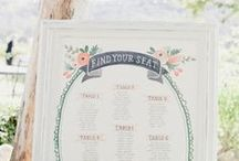 Seating Charts // Escort Cards