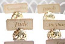 Place Cards // Table Settings