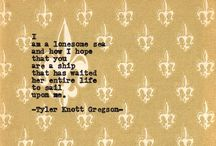 tyler knott gregson / Collection of Tyler Knott writings. / by Maxine Poole