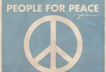 Give Peace a Chance ☮ / by MacKenzie Russell