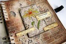 Crafty Inspiration: Art Journals/- Journaling / by Jolanda van Pareren
